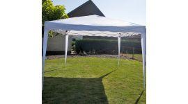 Carpa para fiestas easy up de 3x3 metros blanca Pure Garden & Living