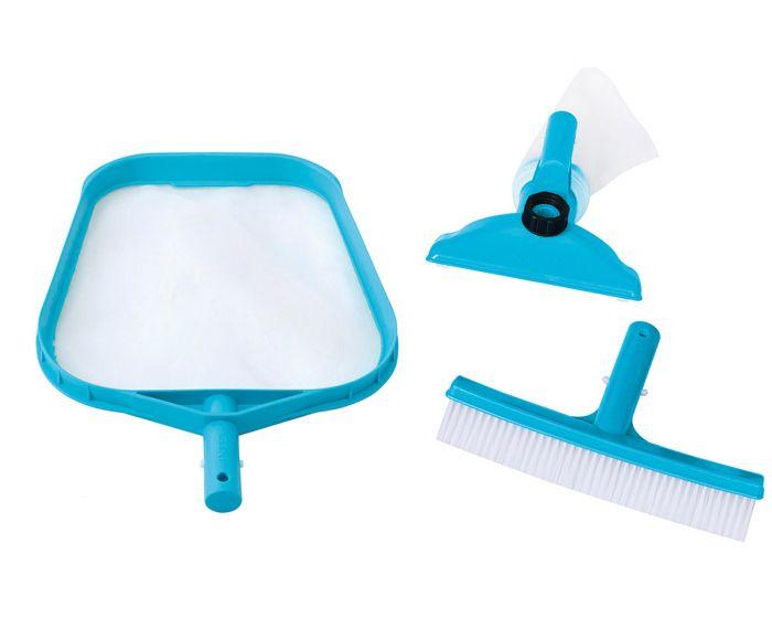 INTEX™ Kit de limpieza para piscina - Ø conexión 26,2 mm (mango no incluido)