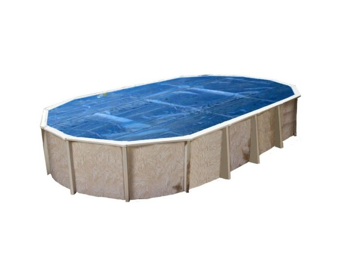 Interline cobertor de verano 9,75 x 4,90 m (ovalado)