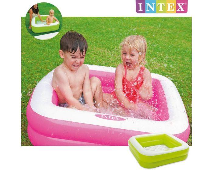Intex play box piscina para beb 85 x 85 cm heuts es for Piscina pequena bebe
