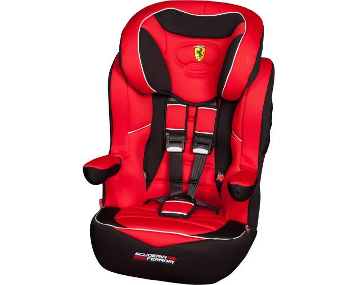 Silla de coche Ferrari I-Max SP Rosso grupo 1/2/3