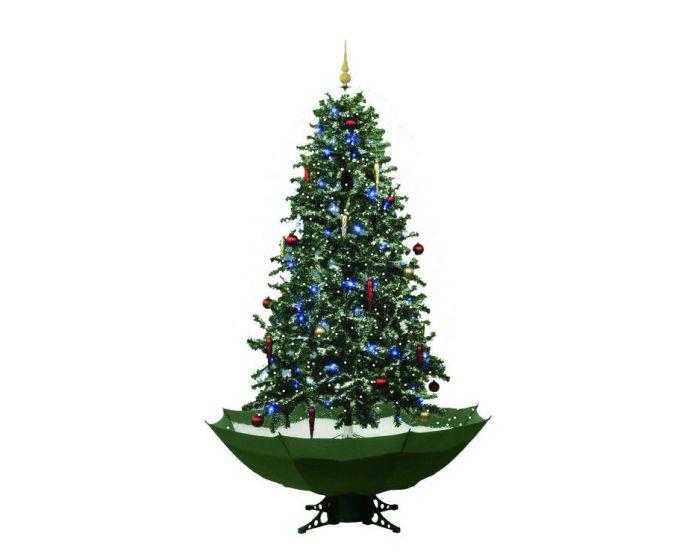 Árbol de Navidad nevando verde - 170cm