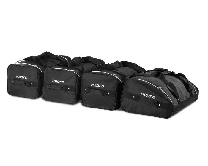 Hapro Set de 4 bolsas para cofre de techo