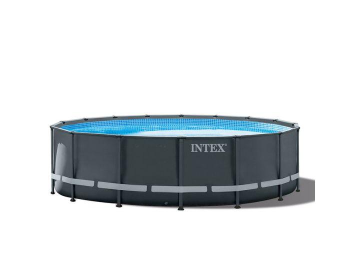 Piscina INTEX™ Ultra XTR Frame - Ø 488cm (el conjunto incluye depuradora de arena)