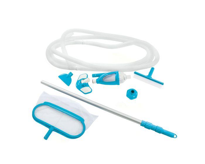 INTEX™ Kit de mantenimiento para piscina Deluxe - Ø 29,8 mm conexión (mango telescópico incluido)