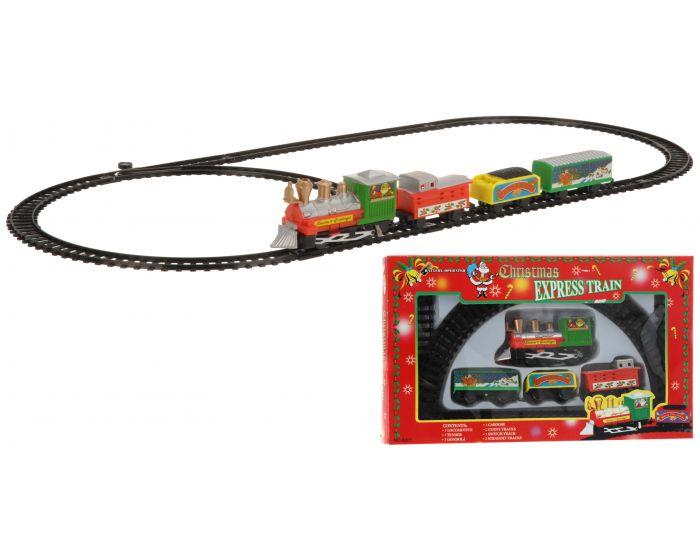 Tren de Navidad 9 piezas