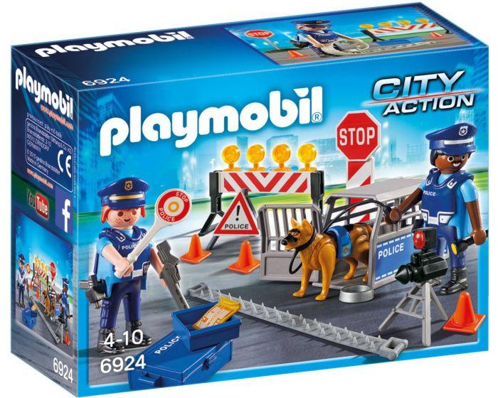 Playmobil 6924, control de policía