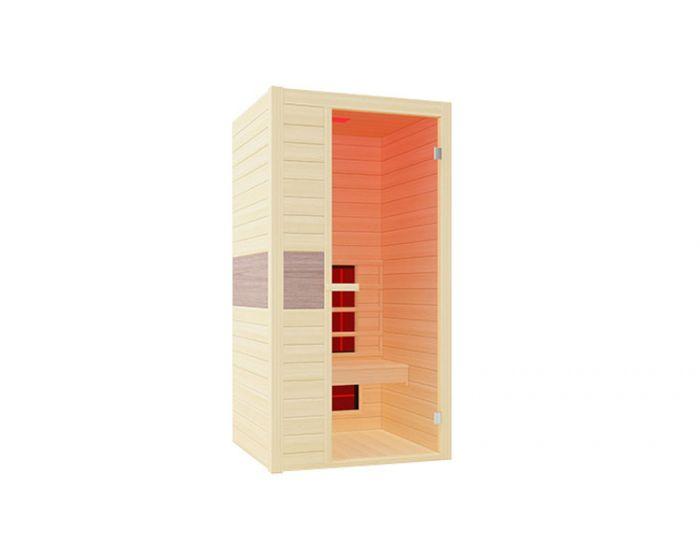 Cabina de infrarrojos Interline Ruby para 1 persona 100 x 94 x 190