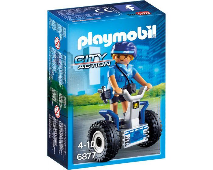 Playmobil 6877, policía con Balance Racer
