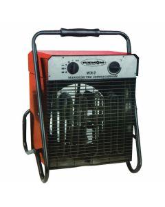 Estufa industrial con ventilador 9000W