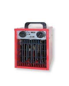 Estufa industrial con ventilador 2000W