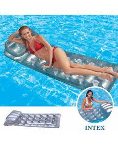 INTEX™ Colchoneta reflectante plata 18 vasos