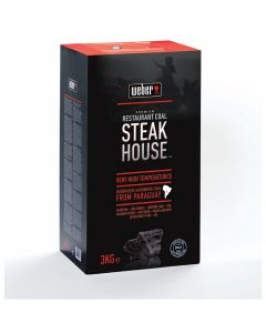 Weber Premium Steak House carbón vegetal 3 kg