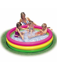 INTEX™ Sunset Glow - Piscina infantil (Ø 114 cm)