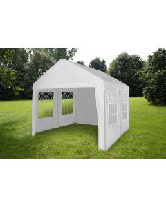 Carpa para fiestas de 4x4 metros blanca con paredes laterales Pure Garden & Living