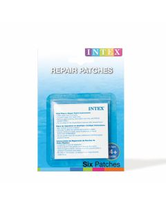 INTEX™ kit de reparación - 6 parches reparadores autoadhesivos