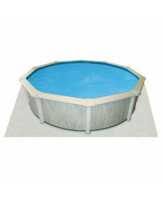 Interline tapiz para piscina 7,30 x 3,60 m (ovalado)