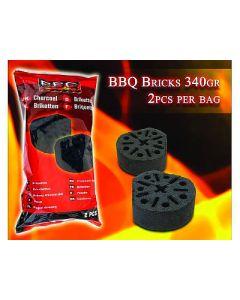Pastilla de encendido Barbacoa 2 uds. de 340 g