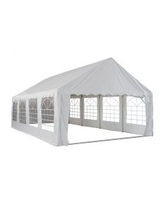 Carpa 5x8 metros en blanco con paredes laterales Pure Garden & Living