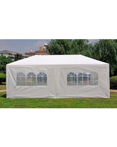 Carpa para fiestas de 3x6 metros blanca con paredes laterales Pure Garden & Living