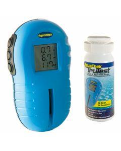 Aquacheck – set de análisis digital para verificar la calidad del agua de la piscina