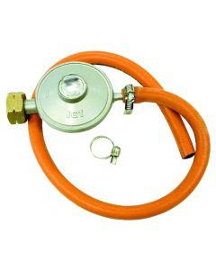 Set regulador de presión de gas