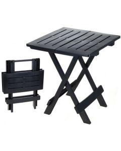 Mesa de camping 44 x 44 negro