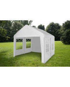 Carpa para fiestas de 3x4 metros blanca con paredes laterales Pure Garden & Living