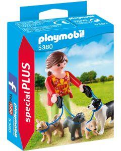 Playmobil 5380, mujer con perros