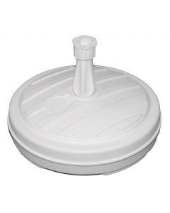 Base para sombrilla blanco