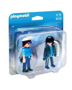 Playmobil, duo pack policía y ladrón