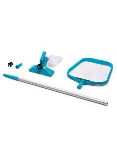 INTEX™ Kit de mantenimiento para piscina - Ø 26,2 mm conexión (mango telescópico incluido)
