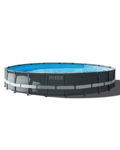 Piscina INTEX™ Ultra XTR Frame - Ø 610cm (el conjunto incluye bomba de filtro de arena)