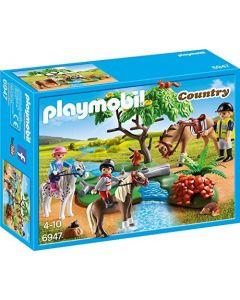 Playmobil 6947, paseo de ponis en el campo
