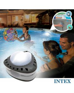 LED magnético INTEX™ ilumina su piscina