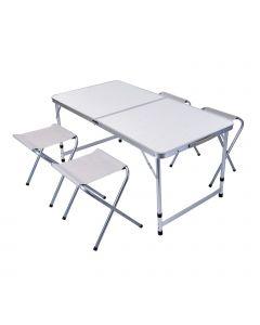 Juego de sillas y mesa, 5 partes
