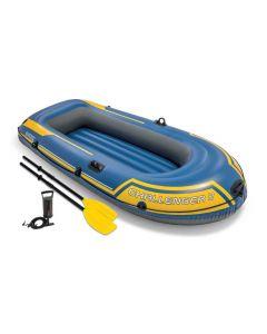 Barca hinchable Intex - Set Challenger 2