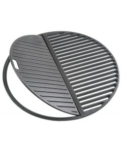 Outdoorchef - Parrilla de hierro fundido 2 piezas Ø 45 cm