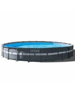 Piscina INTEX™ Ultra XTR Frame - Ø 732cm (el conjunto incluye bomba de filtro de arena)