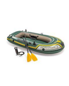 INTEX™ Barca hinchable  - Seahawk 2 Set (incluye remos y bomba)