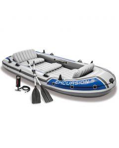 Barca hinchable Intex - Set Excursion 5