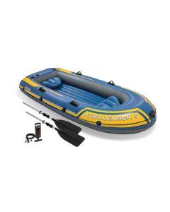Barca hinchable Intex - Set Challenger 3