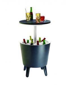 Keter Cool Bar, mesita auxiliar y nevera portátil en 1