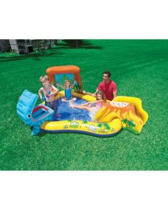 Intex Playcenter Dinosaur zona piscina