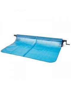Sistema de enrollado del cobertor solar