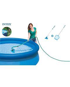 INTEX™ Kit de mantenimiento para piscina - Ø conexión 26,2 mm (mango telescópico incluido)