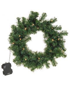 Corona 40 cm 100 ramas con LED