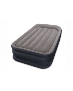 Intex Deluxe Pillow Rest Raised Bed Twin para 1 persona