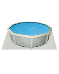 Interline tapiz para piscina 10,50 x 5,50 m (ovalado)