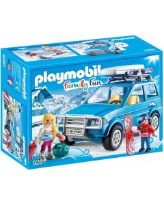 Playmobil Family Fun 9281, 4x4 con portaequipajes